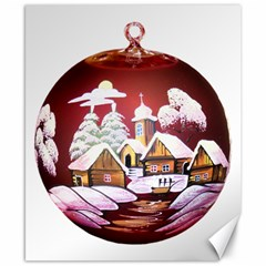 Christmas Decor Christmas Ornaments Canvas 8  X 10  by Nexatart