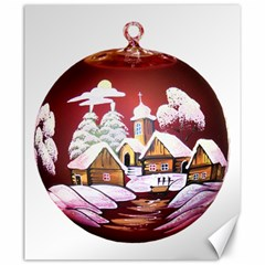 Christmas Decor Christmas Ornaments Canvas 20  X 24   by Nexatart