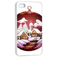 Christmas Decor Christmas Ornaments Apple Iphone 4/4s Seamless Case (white)