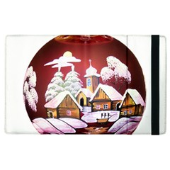 Christmas Decor Christmas Ornaments Apple Ipad 2 Flip Case by Nexatart