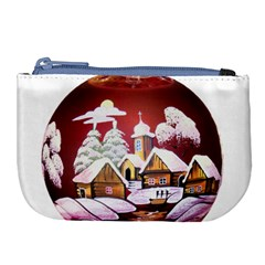 Christmas Decor Christmas Ornaments Large Coin Purse by Nexatart