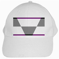 Aegosexual Autochorissexual Flag White Cap by Mariart