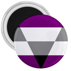Aegosexual Autochorissexual Flag 3  Magnets by Mariart
