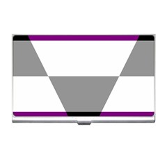 Aegosexual Autochorissexual Flag Business Card Holders by Mariart