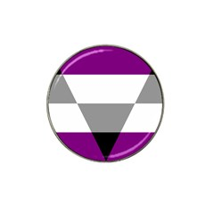 Aegosexual Autochorissexual Flag Hat Clip Ball Marker (10 Pack) by Mariart