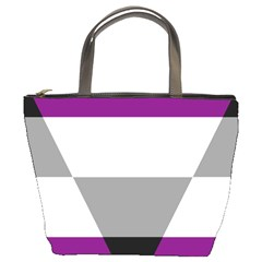 Aegosexual Autochorissexual Flag Bucket Bags by Mariart