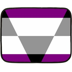 Aegosexual Autochorissexual Flag Fleece Blanket (mini) by Mariart