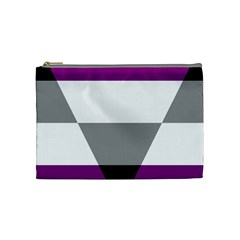Aegosexual Autochorissexual Flag Cosmetic Bag (medium)