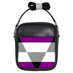 Aegosexual Autochorissexual Flag Girls Sling Bags by Mariart