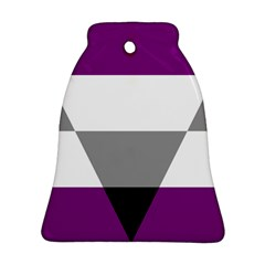 Aegosexual Autochorissexual Flag Bell Ornament (two Sides) by Mariart