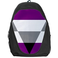 Aegosexual Autochorissexual Flag Backpack Bag by Mariart