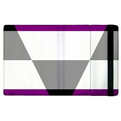 Aegosexual Autochorissexual Flag Apple Ipad 2 Flip Case by Mariart