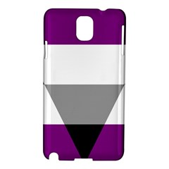 Aegosexual Autochorissexual Flag Samsung Galaxy Note 3 N9005 Hardshell Case by Mariart