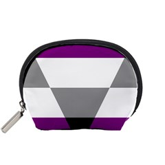 Aegosexual Autochorissexual Flag Accessory Pouches (small)  by Mariart