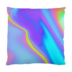 Aurora Color Rainbow Space Blue Sky Purple Yellow Standard Cushion Case (one Side)