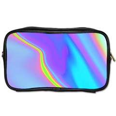 Aurora Color Rainbow Space Blue Sky Purple Yellow Toiletries Bags 2 Side by Mariart
