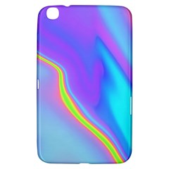 Aurora Color Rainbow Space Blue Sky Purple Yellow Samsung Galaxy Tab 3 (8 ) T3100 Hardshell Case  by Mariart