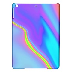 Aurora Color Rainbow Space Blue Sky Purple Yellow Ipad Air Hardshell Cases by Mariart