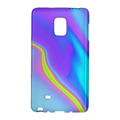 Aurora Color Rainbow Space Blue Sky Purple Yellow Galaxy Note Edge by Mariart