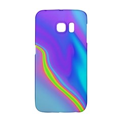 Aurora Color Rainbow Space Blue Sky Purple Yellow Galaxy S6 Edge by Mariart