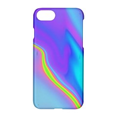 Aurora Color Rainbow Space Blue Sky Purple Yellow Apple Iphone 7 Hardshell Case by Mariart