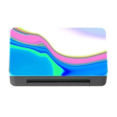 Aurora Color Rainbow Space Blue Sky Purple Yellow Green Memory Card Reader With Cf by Mariart