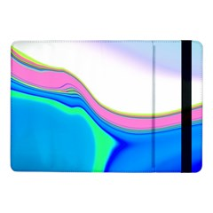 Aurora Color Rainbow Space Blue Sky Purple Yellow Green Samsung Galaxy Tab Pro 10 1  Flip Case by Mariart