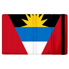 Banner Flag Sun Line Chevron Red White Black Blue Apple Ipad 2 Flip Case by Mariart