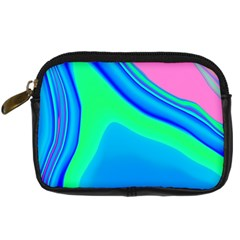 Aurora Color Rainbow Space Blue Sky Digital Camera Cases by Mariart
