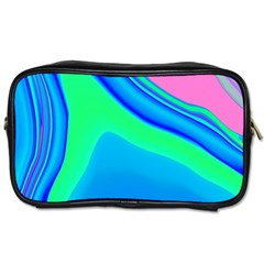 Aurora Color Rainbow Space Blue Sky Toiletries Bags by Mariart