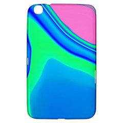 Aurora Color Rainbow Space Blue Sky Samsung Galaxy Tab 3 (8 ) T3100 Hardshell Case  by Mariart