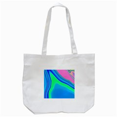 Aurora Color Rainbow Space Blue Sky Tote Bag (white) by Mariart