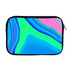 Aurora Color Rainbow Space Blue Sky Apple Macbook Pro 17  Zipper Case by Mariart