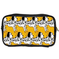 Animals Cat Dog Dalmation Toiletries Bags by Mariart