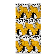 Animals Cat Dog Dalmation Shower Curtain 36  X 72  (stall)  by Mariart