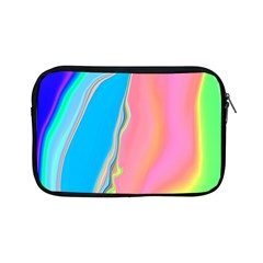 Aurora Color Rainbow Space Blue Sky Purple Yellow Green Pink Apple Ipad Mini Zipper Cases by Mariart