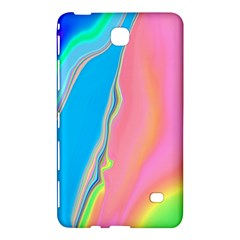 Aurora Color Rainbow Space Blue Sky Purple Yellow Green Pink Samsung Galaxy Tab 4 (7 ) Hardshell Case  by Mariart