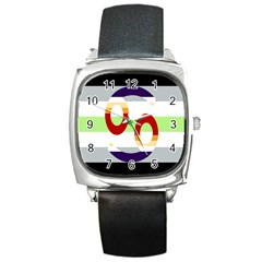 Cance Gender Square Metal Watch by Mariart