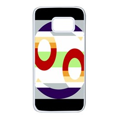 Cance Gender Samsung Galaxy S7 White Seamless Case by Mariart