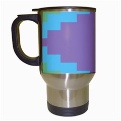 Carmigender Flags Rainbow Travel Mugs (white) by Mariart