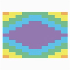 Carmigender Flags Rainbow Large Glasses Cloth (2 Side) by Mariart