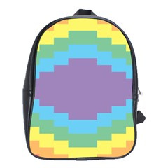 Carmigender Flags Rainbow School Bags(large)