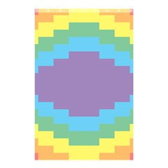 Carmigender Flags Rainbow Shower Curtain 48  X 72  (small)  by Mariart