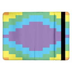Carmigender Flags Rainbow Samsung Galaxy Tab Pro 12 2  Flip Case by Mariart