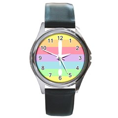 Condigender Flags Round Metal Watch by Mariart