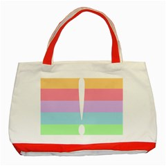 Condigender Flags Classic Tote Bag (red) by Mariart