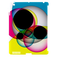 Apollonius Color Multi Circle Polkadot Apple Ipad 3/4 Hardshell Case (compatible With Smart Cover) by Mariart