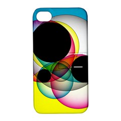 Apollonius Color Multi Circle Polkadot Apple Iphone 4/4s Hardshell Case With Stand by Mariart
