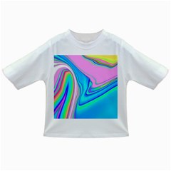 Aurora Color Rainbow Space Blue Sky Purple Yellow Green Pink Red Infant/toddler T Shirts