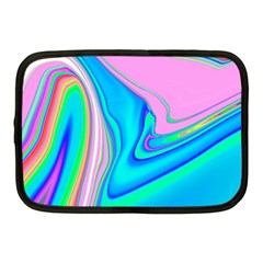 Aurora Color Rainbow Space Blue Sky Purple Yellow Green Pink Red Netbook Case (medium)  by Mariart